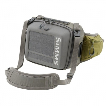 Сумка SIMMS Waypoints Hip Pack 4 л цв. Army Green р. S в интернет магазине Rybaki.ru