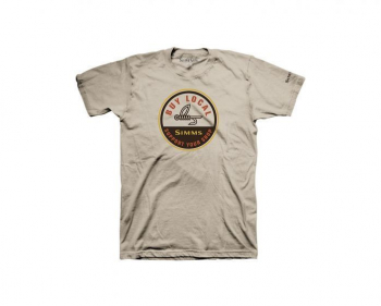 Футболка SIMMS Buy Local T-Shirt цвет sand