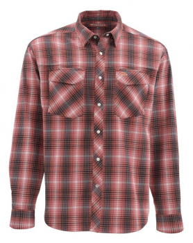 Рубашка SIMMS Gallatin Flannel LS Shirt цвет Garnet Plaid