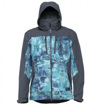 Куртка FHM Gale цвет Голубой принт / Серый