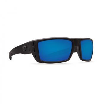 Очки поляризационные COSTA DEL MAR Rafael W580 р. M цв. Blackout цв. ст. Blue Mirror Glass