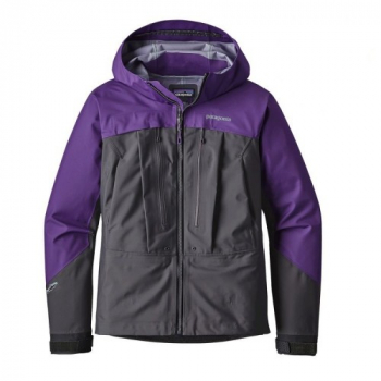 Куртка PATAGONIA W's River Salt Jacket цвет Purple