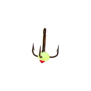 Крючок тройной LUCKY JOHN для приманок с каплей № 8 код цв. F
