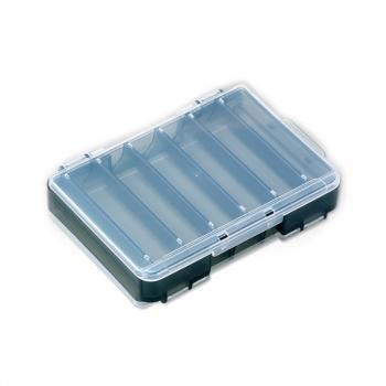 Коробка двухсторонняя MEIHO Reversible D-86 цв. прозрачный / черный в интернет магазине Rybaki.ru