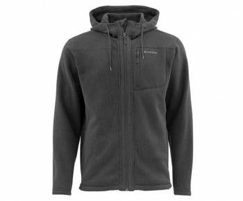 Куртка SIMMS Rivershed Full Zip Hoody цвет Black