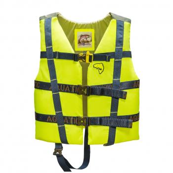 Жилет AQUATIC ЖС-06ДЛ страховочный детский (цвет: лимонный, размер 34-38) в интернет магазине Rybaki.ru