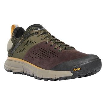 "Ботинки треккинговые DANNER Trail 2650 3"" цвет Dark Brown / Green"
