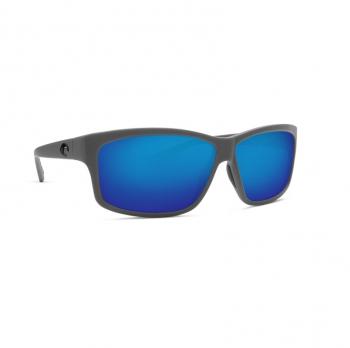 Очки поляризационные COSTA DEL MAR Cut 580P р. L цв. Matte Gray цв. ст. Blue Mirror