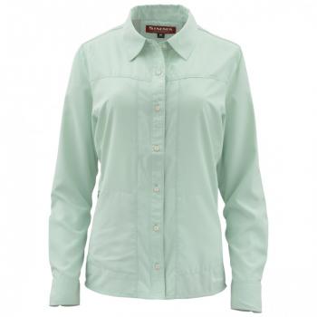 Рубашка SIMMS Women's Isle LS Shirt цвет Spearmint