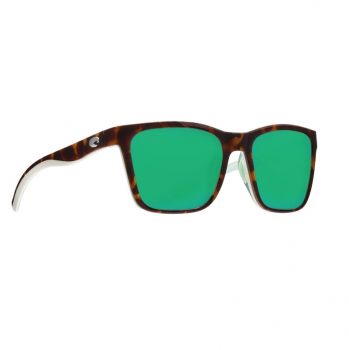 Очки поляризационные COSTA DEL MAR Panga 580P р. L цв. Shiny Tortoise/White/Seafoam Crystal цв. ст. Green Mirror