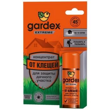 Концентрат GARDEX Extreme для защиты дачного участка от клещей в интернет магазине Rybaki.ru
