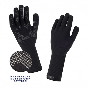 Перчатки SEALSKINZ Ultra Grip Glove цвет Black в интернет магазине Rybaki.ru