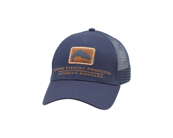 Кепка SIMMS Trout Icon Trucker цв. Ink Blue