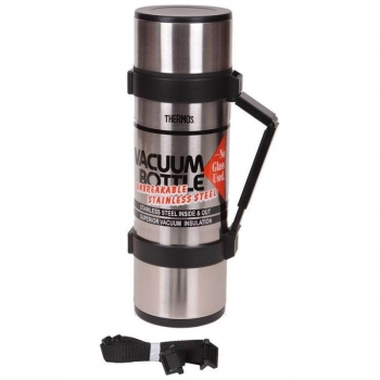 Термос THERMOS NCB-18B Rocket Bottle Nissan Black 1,8 л (тепло/холод до 48 ч) в интернет магазине Rybaki.ru