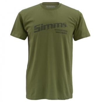Футболка SIMMS Working Waders цвет Olive