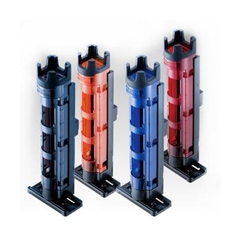Стойка для удилища MEIHO Rod Stand BM-250 Light вн. д. 35 мм цв. красный / черный в интернет магазине Rybaki.ru