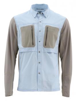 Рубашка SIMMS GT TriComp LS Shirt цвет Light Blue