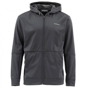 Толстовка SIMMS Challenger Hoody - Full Zip цвет Black в интернет магазине Rybaki.ru