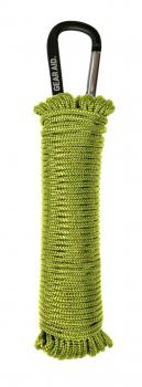 Паракорд GEAR AID для кемпинга, альпинизма, охоты 15 м с алюминиевым крюком, цв. Темно-зеленый в интернет магазине Rybaki.ru