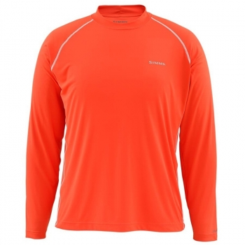 Футболка SIMMS Solarflex Crewneck цвет Dusty Orange