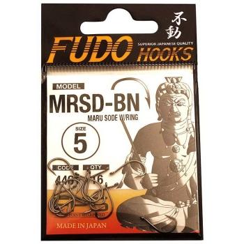 Крючок одинарный FUDO 4401 Maru Sode с кольцом № 4 BN (16 шт.)
