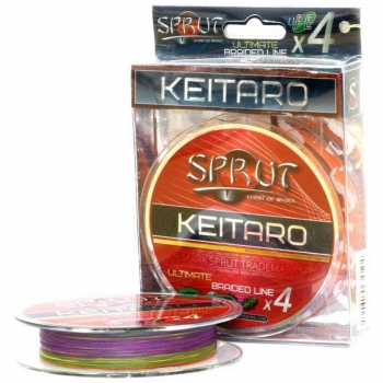 Плетенка SPRUT Keitaro Ultimate Braided Line x4 140 м 0,12 мм 9,1 кг в интернет магазине Rybaki.ru