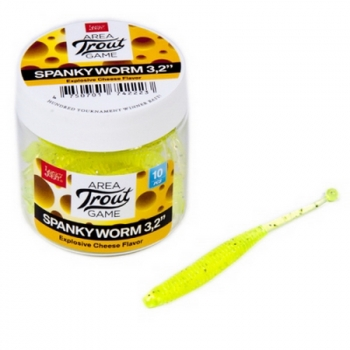 "Слаг LUCKY JOHN Pro Series Spanky Worm 3,2"" 80 мм код цв. 071 (10 шт.)"