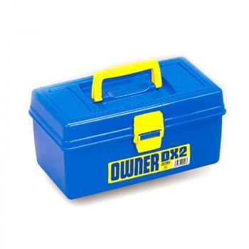 Ящик MEIHO №2 Owner DX цв. синий / желтый в интернет магазине Rybaki.ru