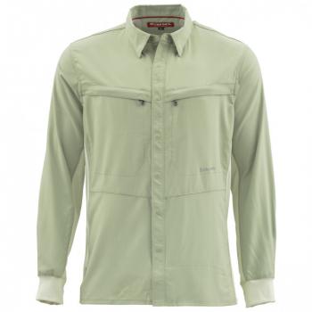 Рубашка SIMMS Intruder BiComp LS Shirt цвет Sagebrush