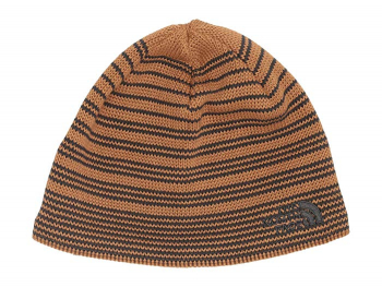 Шапка THE NORTH FACE Bones Recycled Beanie цв. cedar brown / asphalt grey