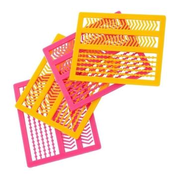 Стопор ТРИ КИТА для бойлов Шарики + Галочки (4 решетки)