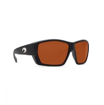 Очки поляризационные COSTA DEL MAR Tuna Alley 580P р. L цв. Matte Black Global Fit цв. ст. Copper