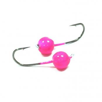 Джиг-Головка вольфрамовая CRAZY FISH розовый 0,75 г (4 шт.) в интернет магазине Rybaki.ru