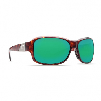 Очки поляризационные COSTA DEL MAR Inlet W580 р. M цв. Tortoise цв. ст. Green Mirror Glass