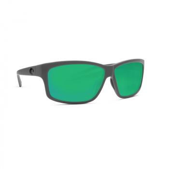 Очки поляризационные COSTA DEL MAR Cut 580P р. L цв. Matte Gray цв. ст. Green Mirror