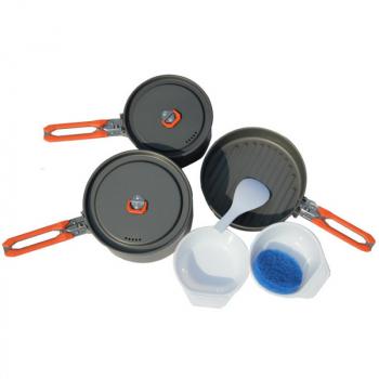 Набор посуды FIRE-MAPLE Feast 3 на 2-3 персоны в интернет магазине Rybaki.ru