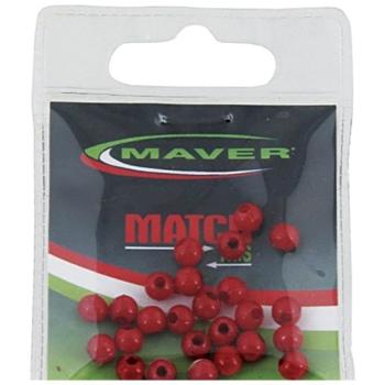 Стопор MAVER Бусинка пласт. 6 мм (25 шт.)