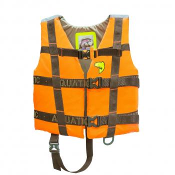 Жилет AQUATIC ЖС-06ДО страховочный детский (цвет: оранжевый, размер 34-38) в интернет магазине Rybaki.ru
