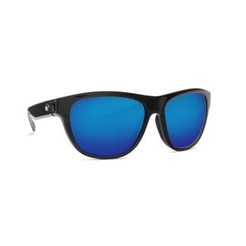 Очки поляризационные COSTA DEL MAR Bayside 580G р. M цв. Shiny Black цв. ст. Blue Mirror