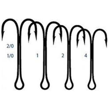 Крючок двойной SAIKYO Saikyo Long Double Hook KH-11040 №8 (10 шт.) в интернет магазине Rybaki.ru