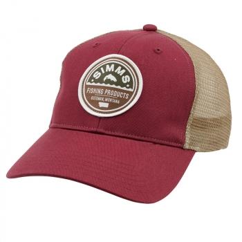 Кепка SIMMS Patch Trucker Cap цв. Malbec