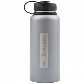 Бутылка SIMMS Headwaters Insulated Bottle цв. Anvil в интернет магазине Rybaki.ru