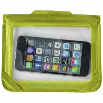 Гермочехол OUTDOOR RESEARCH Sensor Dry Envelope для электроники р. L цв. Lemongrass в интернет магазине Rybaki.ru
