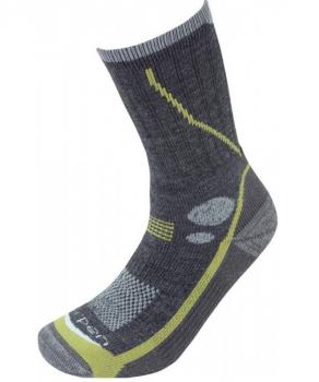 Носки LORPEN T2MCM Men's Midweight Hiker цвет Угольный / Зеленый
