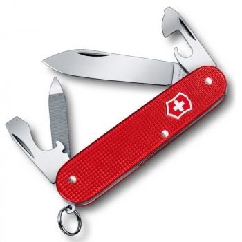 Нож VICTORINOX Alox Cadet 84 мм 9 функций цв. красный