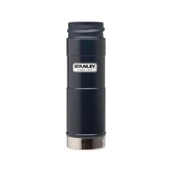 Термокружка STANLEY Classic One Hand Vacuum Mug (тепло 7 ч/ холод 7 ч) 0,47 л цв. Синий в интернет магазине Rybaki.ru
