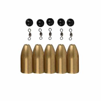 Груз SAVAGE GEAR Brass Bullet Kit's 10 г (4 шт.)