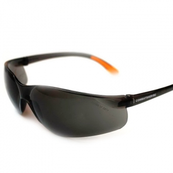 Очки защитные COMBATSHOP Active+ с дымчатой линзой
