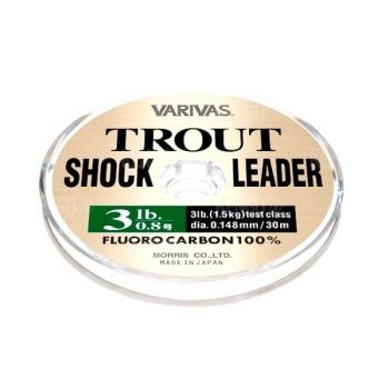 Флюорокарбон VARIVAS Trout Shock Leader 30 м #1.2 в интернет магазине Rybaki.ru