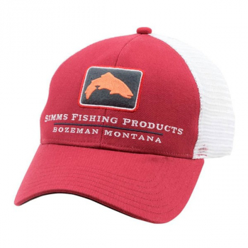 Кепка SIMMS Trout Icon Trucker цв. Rusty Red